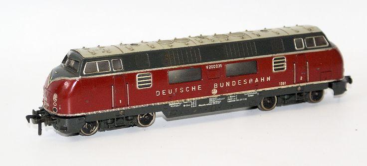 Fleischmann HO Scale #1381 DB V200 Diesel Loco Engine Deutsche Bundesbahn 2