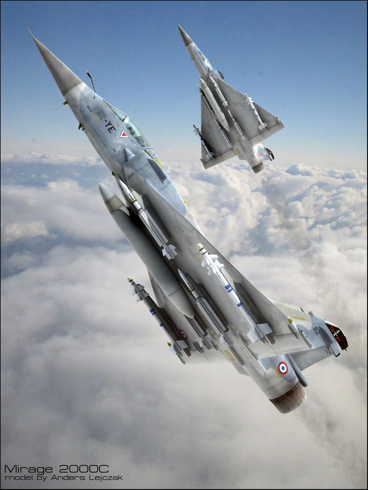 Mirage 2000 (very detailed illustration)