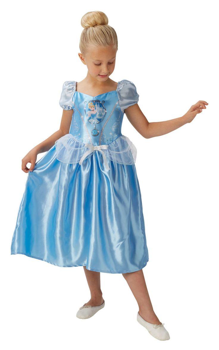 Tuhkimo. Satumaisen kaunis Tuhkimon prinsessa-asu on vaaleansininen, kuten hahmon tyyliin kuuluukin.