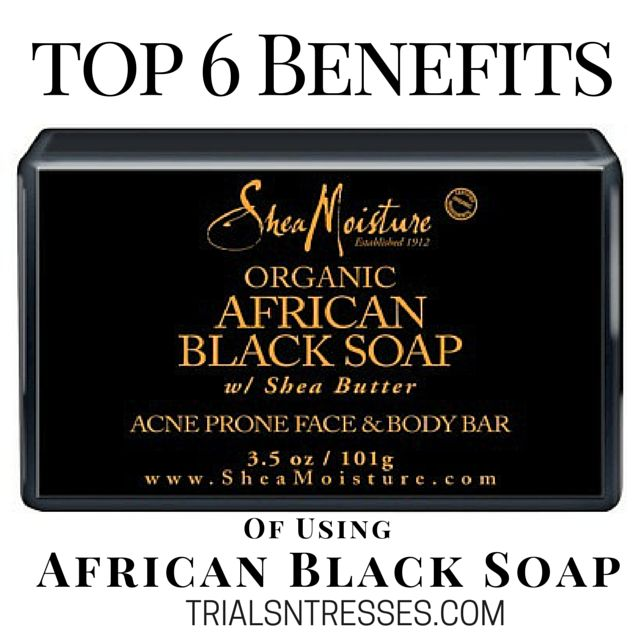 benefits of using african black soap