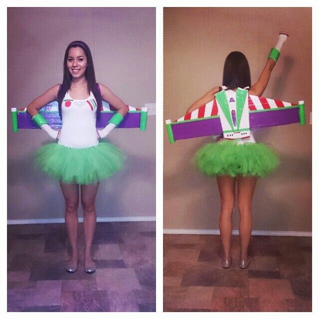 Homemade buzzlightyear costume. Disney themed party. disney character costume