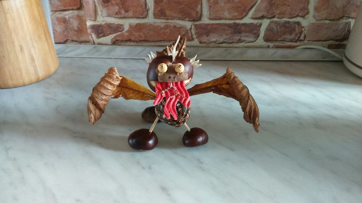 DIY chestnut dragon
