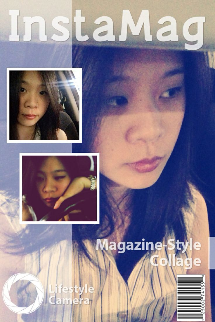 I'm a model• Crazy on a magazine• Good eye-liner drawing• Meeting with cat at dtac House•