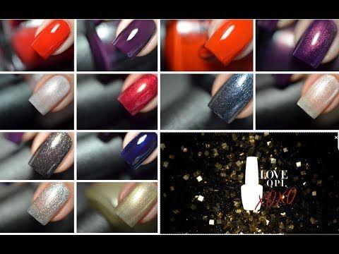 LOVE OPI XOXO / Holiday 2017 OPI Collection Swatches (pt.2)