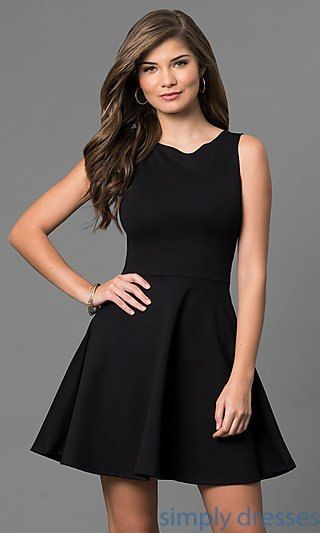 743afa3b80e Long Sleeve Navy Blue Two-Piece Short Party Dress