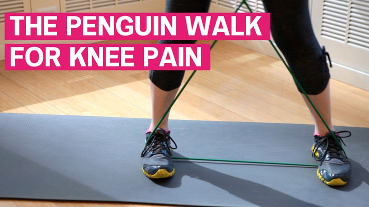The Penguin Walk For Knee Pain - also links to several short video clips for problem areas