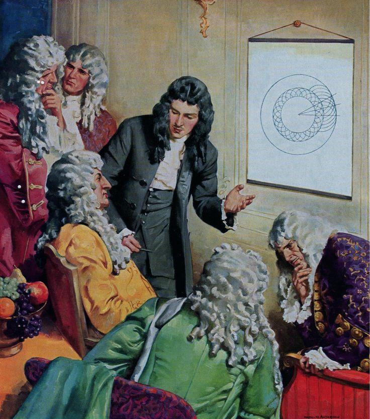 Christian Huygens,en 1679,explico a Luis XIV su teoría de la onda de luz,teoría bajo la cual se fundo la ciencia óptica moderna.