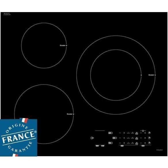 Sauter Spi6300 Plaque De Cuisson Induction 3 Zones 7200 W L 60 X P 52 Cm Revetement Verre Noir Plaque De Cuisson Induction Verre Noir Induction
