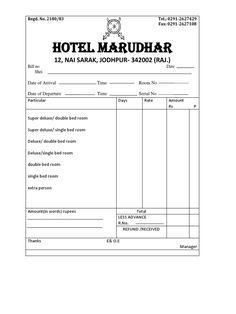 lodge bill format yahoo search results yahoo india image search results