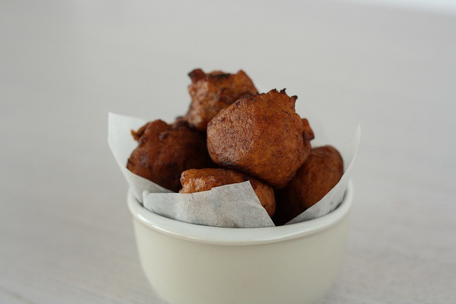 Spicy plantain balls