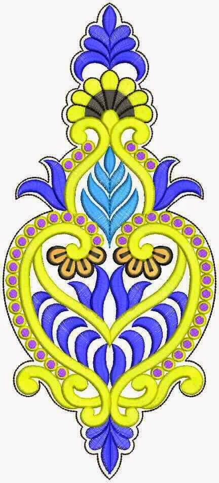 553 best images about embroidery neck designs on pinterest embroidery fashion latest - Appliques exterieures ontwerp ...