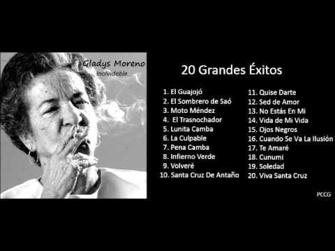 Gladys Moreno - 20 Grandes Éxitos Enganchados - Mix de Gladys Moreno - F...