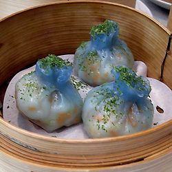 400 on the blue food board! Dim Sum? BLUE Dim Sum? Well, someone call my Mum 'cos I must be in heaven...