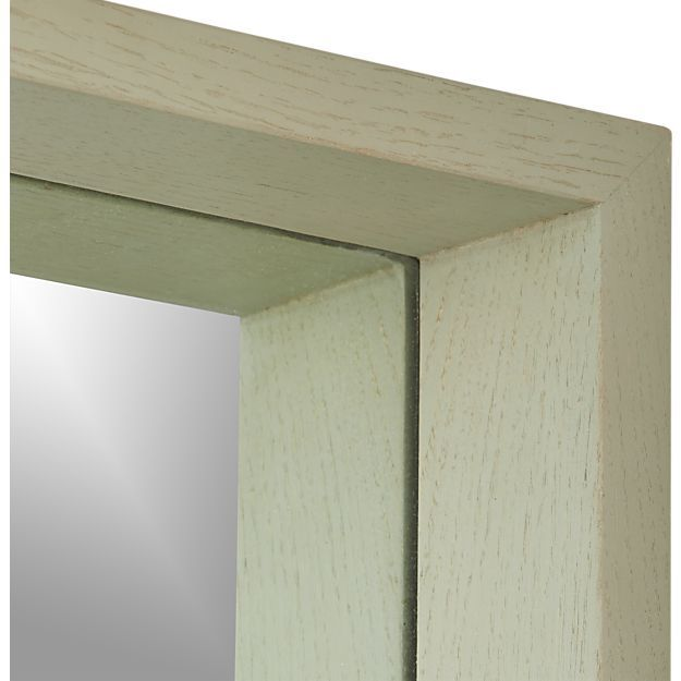 Andover Floor Mirror | Crate and Barrel