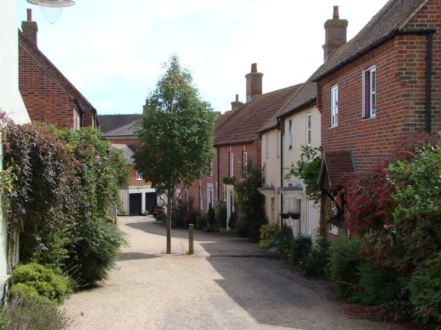 Poundbury Village, Dorset - an experimental new town built according to the principles of Prince Charles