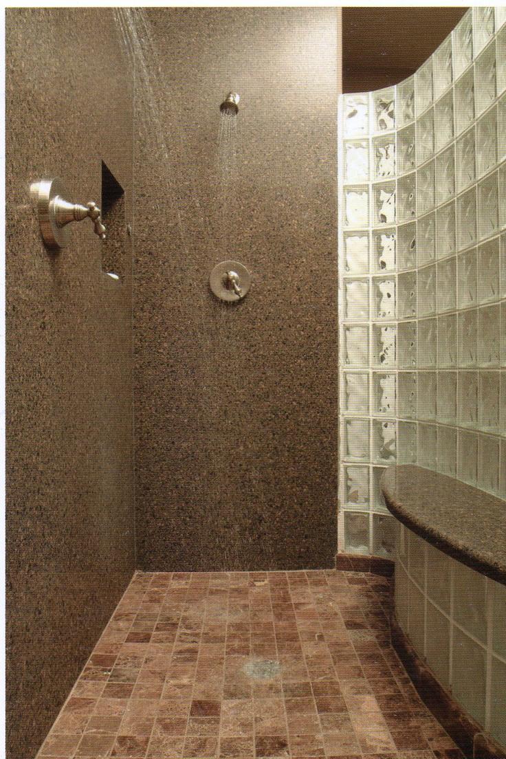 Glass Block Bathroom Ideas 22 best bathroom renovation images on pinterest | glass block