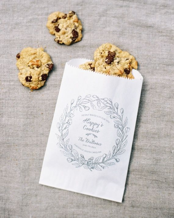 24 Best Ideas To Steal From Our Real Weddings Of Is Your Grandmother Famous For Her Chocolate Chip Cookies Do What This Bride Did And Have Bake Up Some