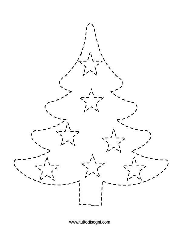 Free Printable Tree Trace Worksheet 1 Crafts And Worksheets For Preschool Toddler And Kindergarte Christmas Worksheets Preschool Christmas Christmas Crafts