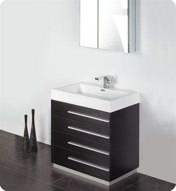 Photo Gallery On Website Best Black bathroom vanities ideas on Pinterest Black cabinets bathroom Black bathroom mirrors and Double vanity