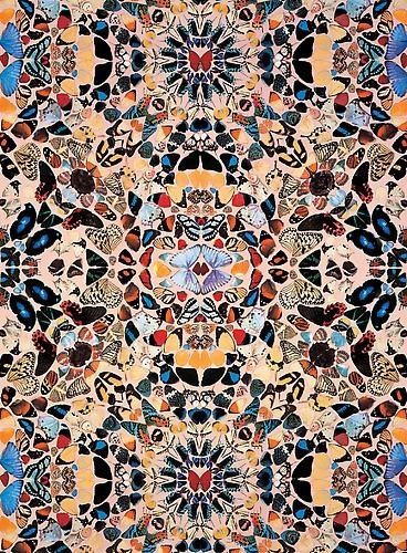 Damien Hirst - Butterfly Wallpaper