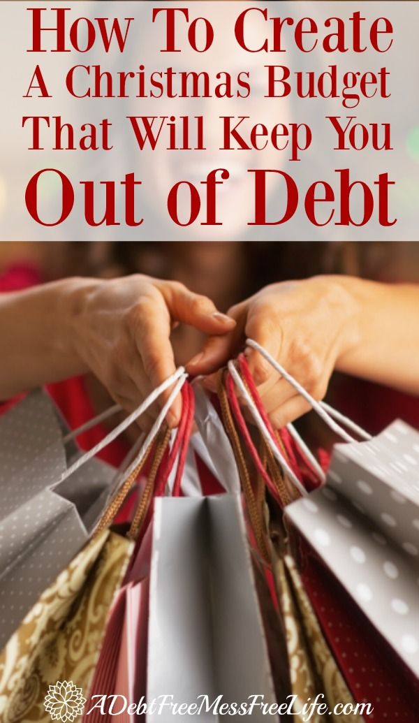 Develop a Christmas budget this year that will keep you out of debt! Decorations, food, parties and gifts can make your holiday budget out of control. Learn how to make sure that doesn't happen!