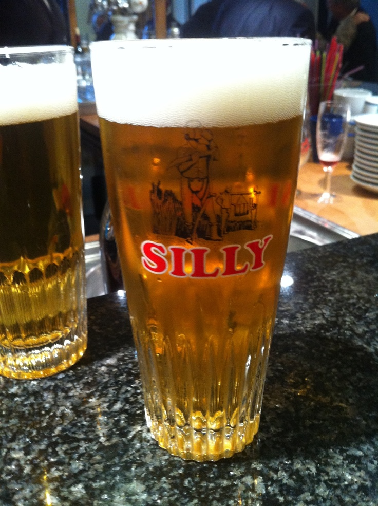 Silly pils -- available in draught