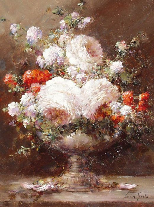 lucia sarto art paintings flowers landscapes