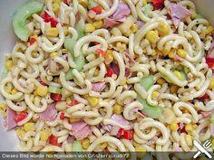 Chefkoch.de Rezept: Diät - Nudelsalat