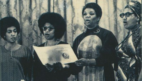 June Jordan, Alice Walker, Lucille Clifton,  Audre Lorde  At Phillis Wheatley Poetry Fest, 1979