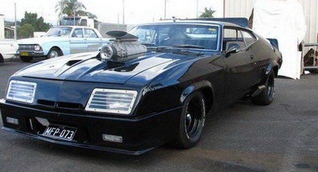 Mad Max's Ford Falcon Coupe Pursuit Special Replica