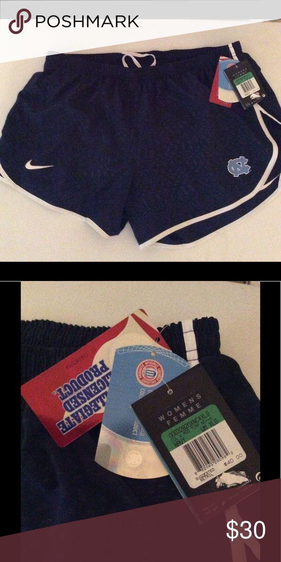 NIKE Dri-Fit University of North Carolina Shorts Brand new Woman's XL NIKE Dri-Fit UNC shorts Nike Shorts