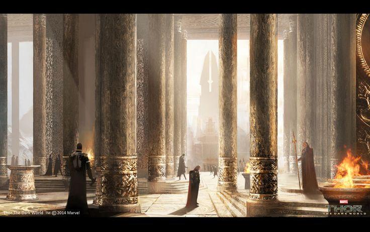 The Dark World concept arts