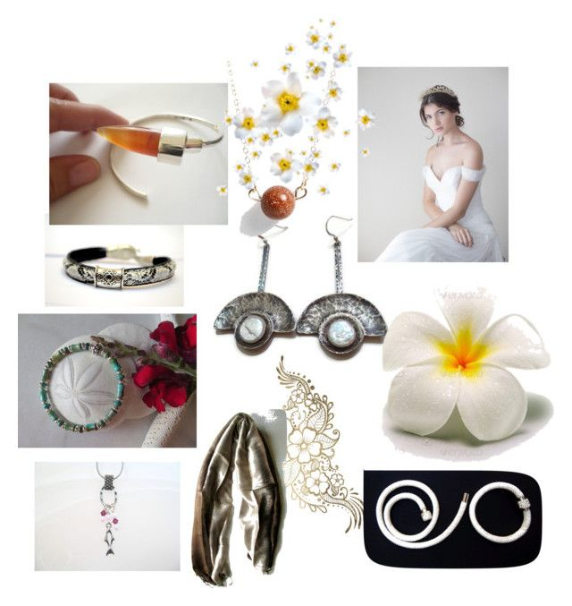 Summer Wedding by anna-recycle on Polyvore featuring modern, rustic and vintage