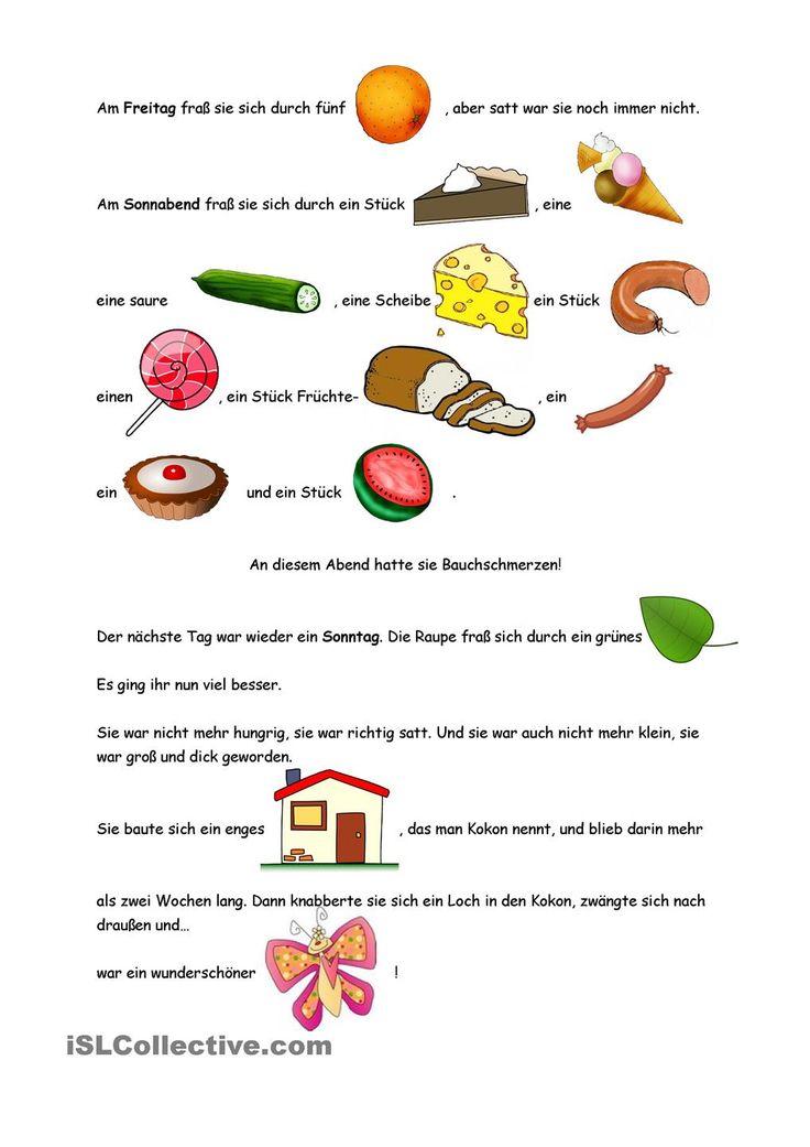Die besten 17 Ideen zu Kindergarten Raupe Nimmersatt auf ...