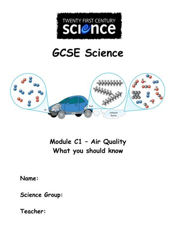 ocr chemistry coursework mark scheme gcse Gcse chemistry 3 specimen mark scheme higher tier v10 quality of written communication and levels marking in question 2(b) candidates are required to produce.