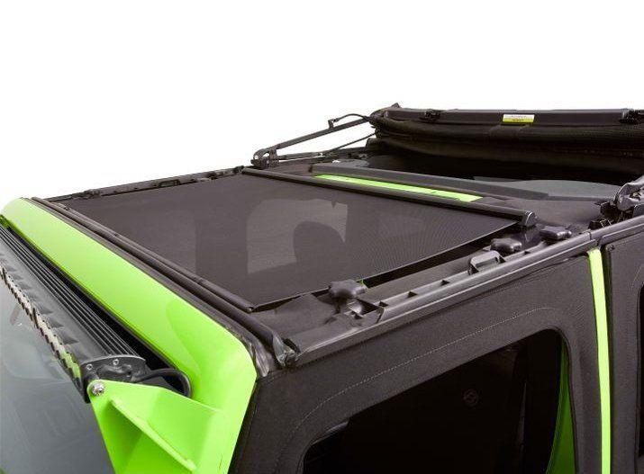 Bestop Retractable Sunshade For 07 18 Jeep Wrangler Jk Jeep Wrangler Jk Wrangler Jk Jeep Wrangler