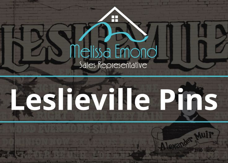 Just the cover photo for my Leslieville pins.