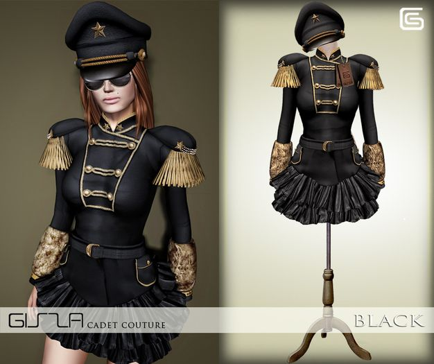 GizzA - Cadet Couture [Black]