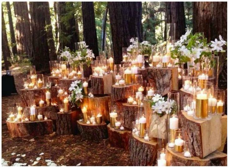 luce magica pe ri matrimoni autunnali