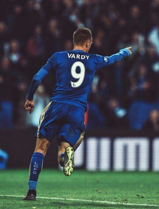 Jamie Vardy is so inspiring! Making me wanna follow his footsteps lol