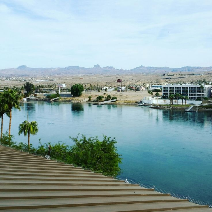 Bullhead City AZ & Laughlin, NV Border along the Colorado River.