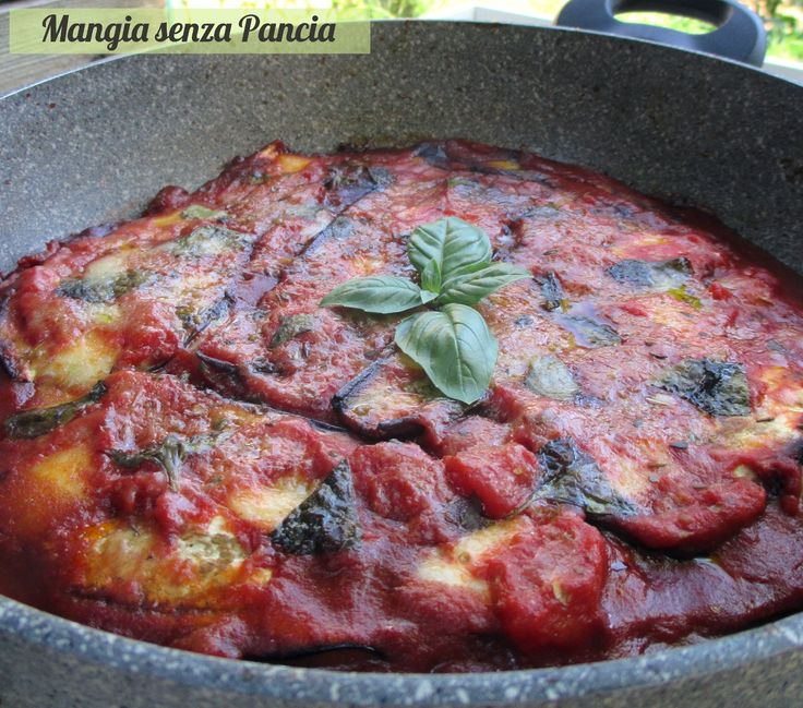 Parmigiana light in padella