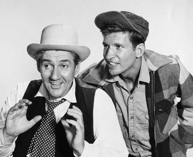 """Green Acres"" (1965-71)  Pat Buttram as Mr. Haney  Tom Lester as Eb"