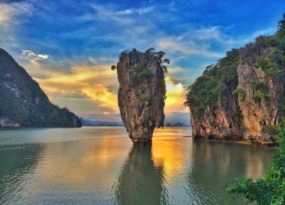 khao phing kan thailand   Khao Phing Kan or James Bond Island in Phuket, Thailand   Photography ...
