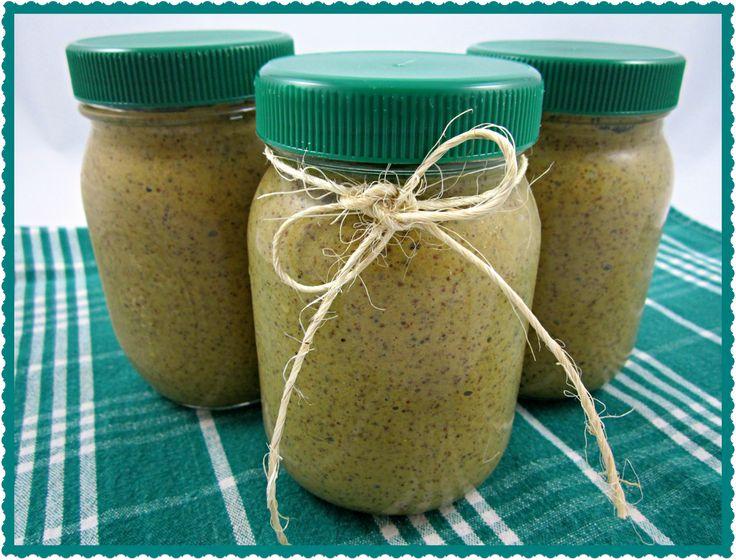 Homemade Spicy Mustard Recipe - Miss Lady Bug's Garden  Домашняя горчица из порошка или зерен