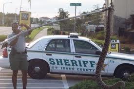 7'3 Eastern Diamond Back snake found in St. Augustine FL