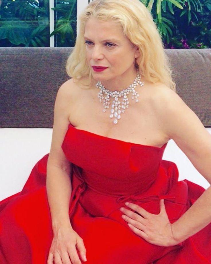 Angela Ismailos wearing Vassilis Zoulias in #Cannes #luxury #lifestyle #Filmfestival #cannesfestival2017 #womeninthegarden #fashionpolice