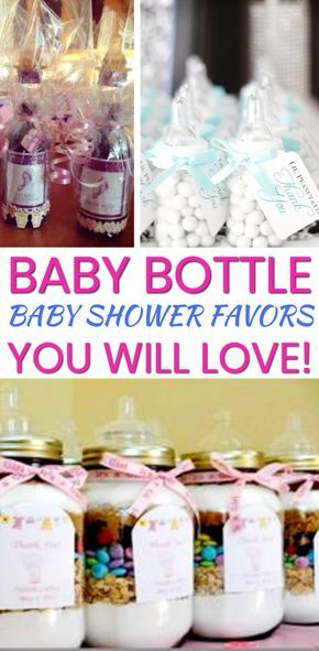 Baby Bottle Baby Shower Favors! These make great boys baby shower favors as well as girl baby shower favors. The best baby shower favor ideas for your Baby Bottle theme baby shower! Find the coolest baby shower favors now!