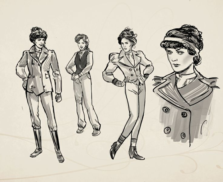 Evangelina Glass. Character concept art from Clockwork Tales: Of Glass and Ink #steampunk #adventure #game www.artifexmundi.com/page/clockwork/ www.facebook.com/ArtifexMundi.ClockworkTales