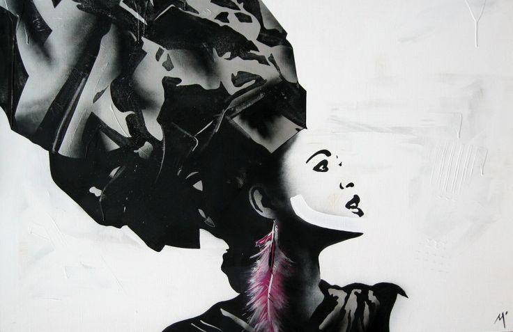 "Original Artwork by Matt Stewart. Size: 100cm (39.3"") x 150cm (59""). Acrylic / Aerosol   #art #artwork #fashion #home #interiordesign"